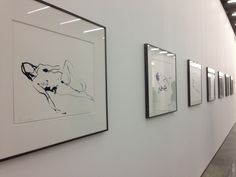 Tracey Emin Exhibition 'the last great adventure is you' at the White cube gallery, London