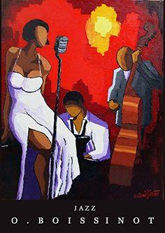 Affiche Chanteuse Jazz signée par O.BOISSINOT O.BOISSINOT http://www.amazon.fr/dp/B018G9Z9WK/ref=cm_sw_r_pi_dp_vEkwwb0DQM11J