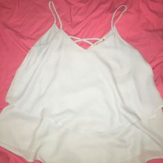 Francesca's tank Worn once. No signs of wear Annabella Tops Tank Tops