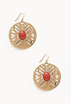 Cutout Southwestwern Dangle Earrings | FOREVER21 - 1072454877