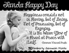 Janda Happy Day Font · 1001 Fonts