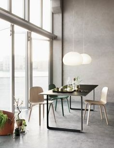 VISU - Modern Scandinavian Design Chair by Muuto - Muuto