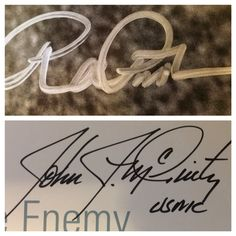 Medal of Honor (3 of 5). Richard Pittman (via mail), John McGinty (via mail).