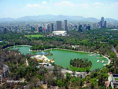 Bosque y Lago de Chapultepec (Mexico D.F.)