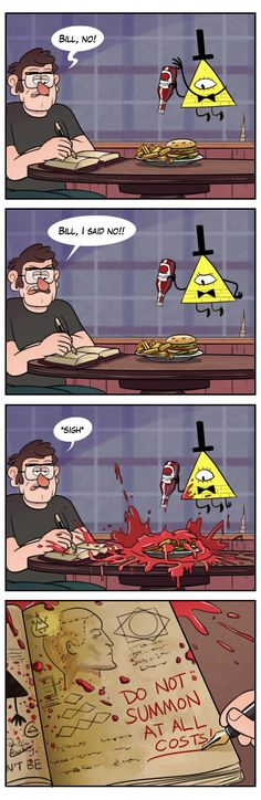 Just Don't by markmak on DeviantArt/////// Oh... All this time I thought it was blood...