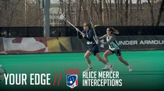 Your Edge: Interceptions with Team USA's Alice Mercer