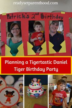 Tigertastic Daniel Tiger Birthday Party