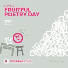 Have a friutful poetry day! Check out our FUTURAMO ICONS – a perfect tool for designers & developers on futuramo.com