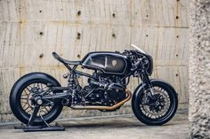 BMW R NineT Bavarian Fistfigher by Rough Crafts Customs Right Side Profile