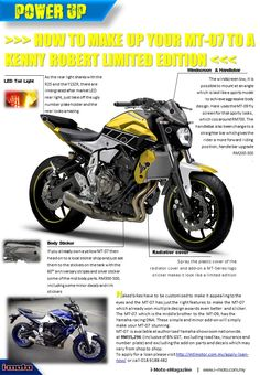 MT-07 Special Edition                                                                                                                                                                                 More