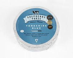 Shepherds Purse artisan Yorkshire cheese packaging by Robot Food, UK