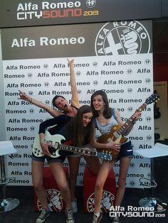 #AlfaCitySound Milano 2013 - Alfa Romeo Stand Day 2 | Flickr - Photo Sharing! #Gibson #AlfaRomeo