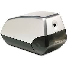 Shop for X-ACTO Helix Office Electric Pencil Sharpener, Silver/Black. Get free delivery On EVERYTHING* Overstock - Your Online Art & School Supplies Destination! Best Pencil Sharpener, Office Electrics, Online Art School, Electric Pencil Sharpener, Pencil Shavings, Shopping Hacks, School Supplies, The Help, Gray