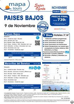 Países Bajos y Maravillas del Benelux salida 9 Noviembre **Precio Final desde 739** - http://zocotours.com/paises-bajos-y-maravillas-del-benelux-salida-9-noviembre-precio-final-desde-739-2/