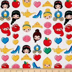 Designed by Disney and licensed to Springs Creative Products, this cotton print fabric is perfect for quilting, apparel and home decor accents. Colors include black, pink, white, blue and green. Due to licensing restrictions, this item can only be shipped to USA, Puerto Rico, and Canada.