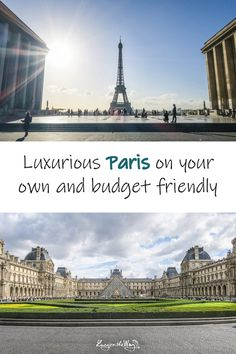 Your guide to visiting Paris on the budget comfortably and cheaply on your own. From flight tickets, accommodation, to all the sights and tips that will make your trip easier. Travel more for less money. Cheap Travel, Budget Travel, Paris Budget, Paris Skyline, Budgeting, France Europe, Paris France, Louvre, Luxury