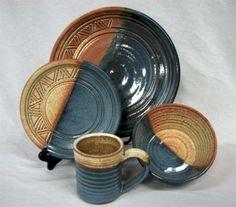 rustic flatware | Western Ranchero Cabin Dinnerware Place Setting