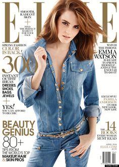 "Emma Watson Covers ""Elle"" Magazine....Gorgeous!"
