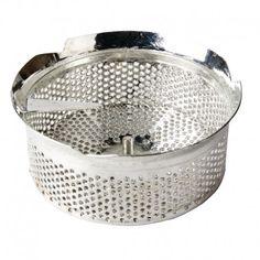 Grille pour moulin Tellier. S'utilise avec produit J415. Dimensions: Diamètre 4mm.