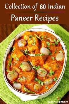 Paneer do pyaza is a restaurant style paneer recipe with delicious, aromatic gravy that has mild hints of sweet and slightly tangy taste. Paneer Recipe Video, Chaat Recipe, Biryani Recipe, Tasty Vegetarian Recipes, Spicy Recipes, Cooking Recipes, Indian Food Vegetarian, Cuban Recipes, Chicken Recipes