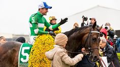 Winner of the 141st #Preakness Stakes, Exaggerator!