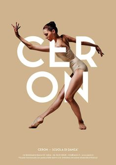 Graphisms , Typography , Infographics and Design - Ceron Dance School - Posters Design by Ivan Moreale, via Behance - CoDesign Magazine Graphic Design Posters, Graphic Design Typography, Graphic Design Inspiration, Poster Designs, Minimalist Design Poster, Graphic Design Layouts, Jazz Poster, Foto Poster, Poster Poster