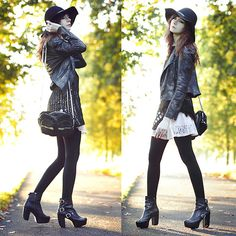 Bebe Snakeskin Print Jacket, Forever 21 Lace Dress, Miista Batilda Boots, Alexander Wang Brenda Bag