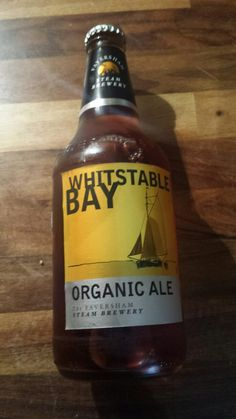 """New Beer Review: """"Whitstable Bay organic ale. Slightly darker ale and so a bit..."""" https://t.co/ENasBj9vZU #beer #ale"""