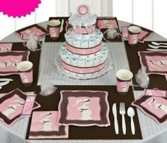 54 Best Pink And Brown Baby Shower Images Baby Girl Shower Girl