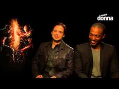 Capitan America - Civil War: intervista a Sebastian Stan e Anthony Mackie - YouTube