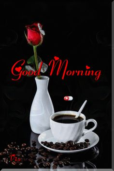 Pin by Elvira Almeida on good morning msg Good Morning Messages Friends, Gud Morning Wishes, Morning Love Quotes, Good Morning Inspirational Quotes, Good Morning Greetings, Morning Gif, Good Morning Roses, Latest Good Morning, Good Morning Coffee