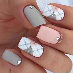 Mani of the day  #nails2inspire #nails #nailart #nailsdid #nailstyle #mattenails #nailswag #nailsdone #nailsofinstagram #nailsdesign #nailsbyme #nailslover