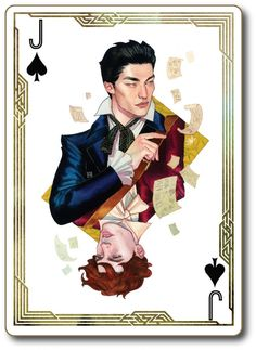 Six of Crows de Leigh Bardugo aux éditions Milan _ Illustration de Wylan par Kevin Wada