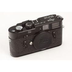 Leica M4 mot black