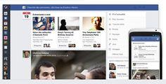 Facebook après les boutons d'humeur, les tchatbots c'est une nouvelle innovation majeure sûrement arriver une refonte du fil d'actualité.