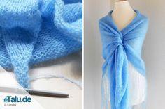 Kleider KüHn Sommerkleid Blau Gr.s/m