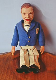 Palitoy Archie Andrews Ventriloquist Doll, Made In England, Vintage Doll Plastic Shoes, Plastic Pants, Marty Feldman, Ventriloquist Dummy, Archie Andrews, Striped Blazer, Vintage Toys, 1950s, England