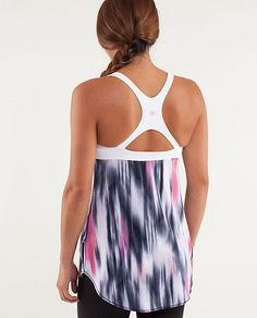 Venus Tank - awesome yoga top especially with black yoga pants!