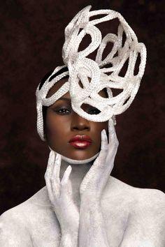 Braided Hair Sculpture: Angela Plummer Photographer: Arron Dunworth Make up artist: Lauren Baker Model: Janita Francis