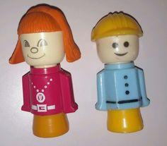 Vintage-1970s-1980s-Matchbox-Bota-Zapato-Casa-De-Munecas-Juguete-Muneca-Figuras-Play-N-Aprender
