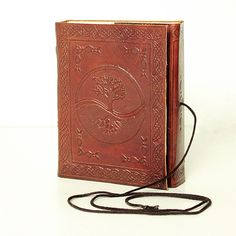 Small Tree of Life Leather Journal