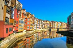 Northern Catalonia's largest city, Girona is just an hour north of Barcelona by car.