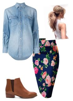 """Untitled #97"" by ohraee019 on Polyvore featuring Yves Saint Laurent and Seychelles"