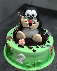 krtek dort 9th Birthday, Birthday Cake, Cakes, Desserts, Kids, Food, Deserts, 80th Birthday Cakes, Celebration