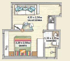 Revista MinhaCASA - Conforto total em 25 m²