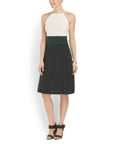 Made In Italy Colorblock Dress