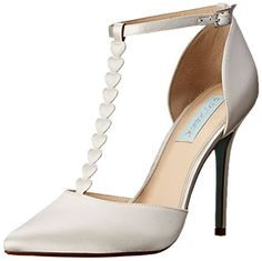 Blue by Betsey Johnson Women's SB-CECE Dress Sandal, Ivory Satin, 8 M US Betsey Johnson http://www.amazon.com/dp/B011PMATSE/ref=cm_sw_r_pi_dp_Rao7wb1T3Z1AK