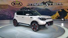 Kia Trailster at Chicago Auto Show