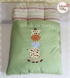 Feito com tecido 100% algodão, bem fofinho para o conforto do seu bebê.    Medida 70x45 cm    Entre em contato para personalizar do seu jeito e da sua cor.