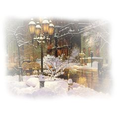 TUBES PAYSAGES ❤ liked on Polyvore featuring christmas, winter, backgrounds, tubes, paysages and scenery